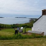 The view from Gables Cottage overlooking the Summer Isles