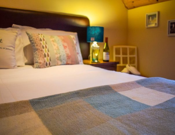Our bedrooms at Gables Cottage near Achiltibuie are a lovely place to relax and unwind