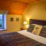 Relax in style in a choice of two spacious bedrooms at Gables Cottage