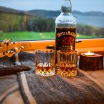 Enjoy a dram overlooking the Summer Isles when you stay at Gables Cottage