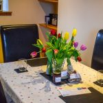 Dine in style when you stay at Gables Cottage
